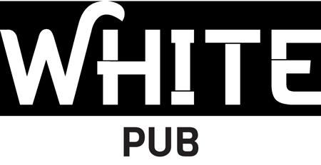 white pub logo