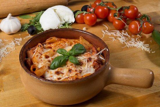 paste siciliene al forno