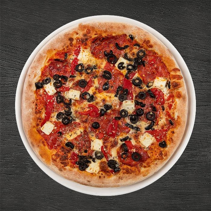 pizza a la grek