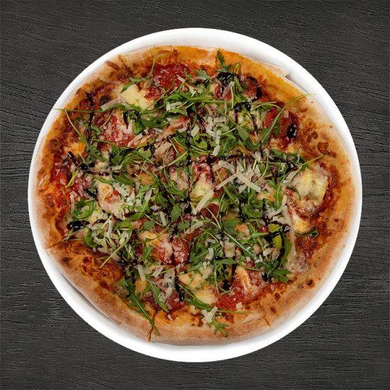 pizza salsiccia picante